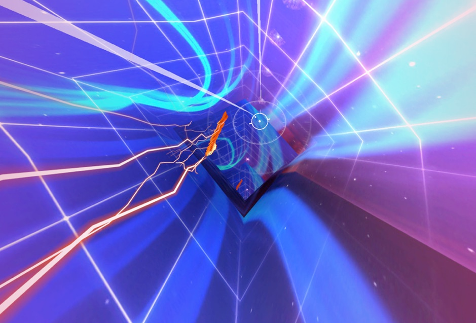 image of particle VR game